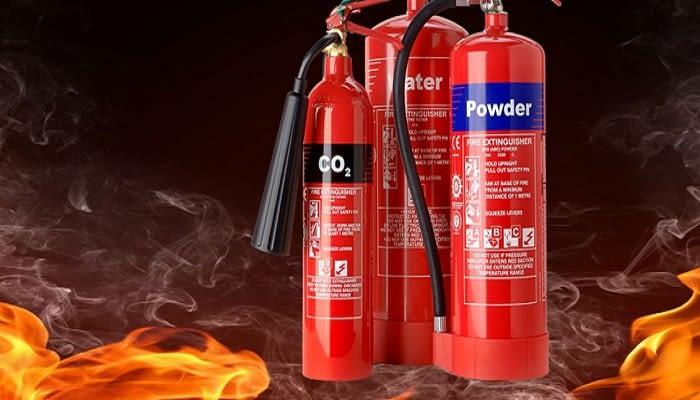 کپسول های آتش نشانی مورد نیاز در کارخانه