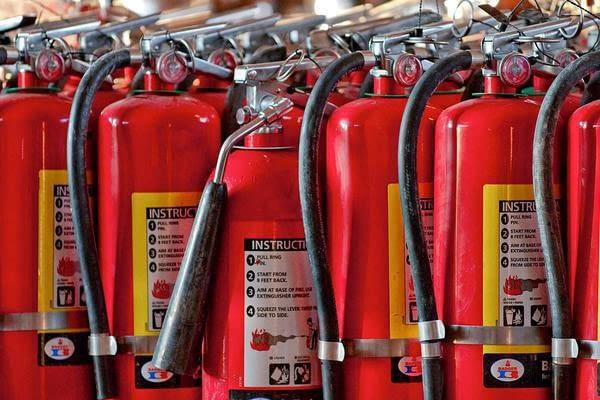 کجا کپسول های آتش نشانی شارژ مجدد می شوند