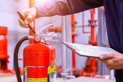 شارژ مجدد کپسول آتش نشانی تجاری