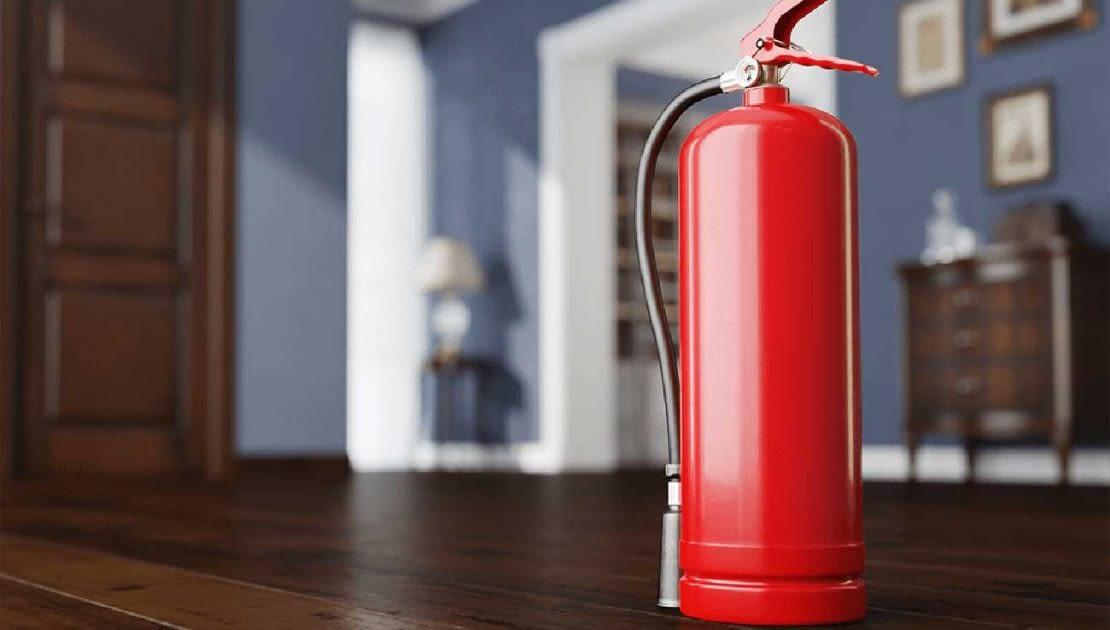 قانون استفاده از کپسول آتش نشانی