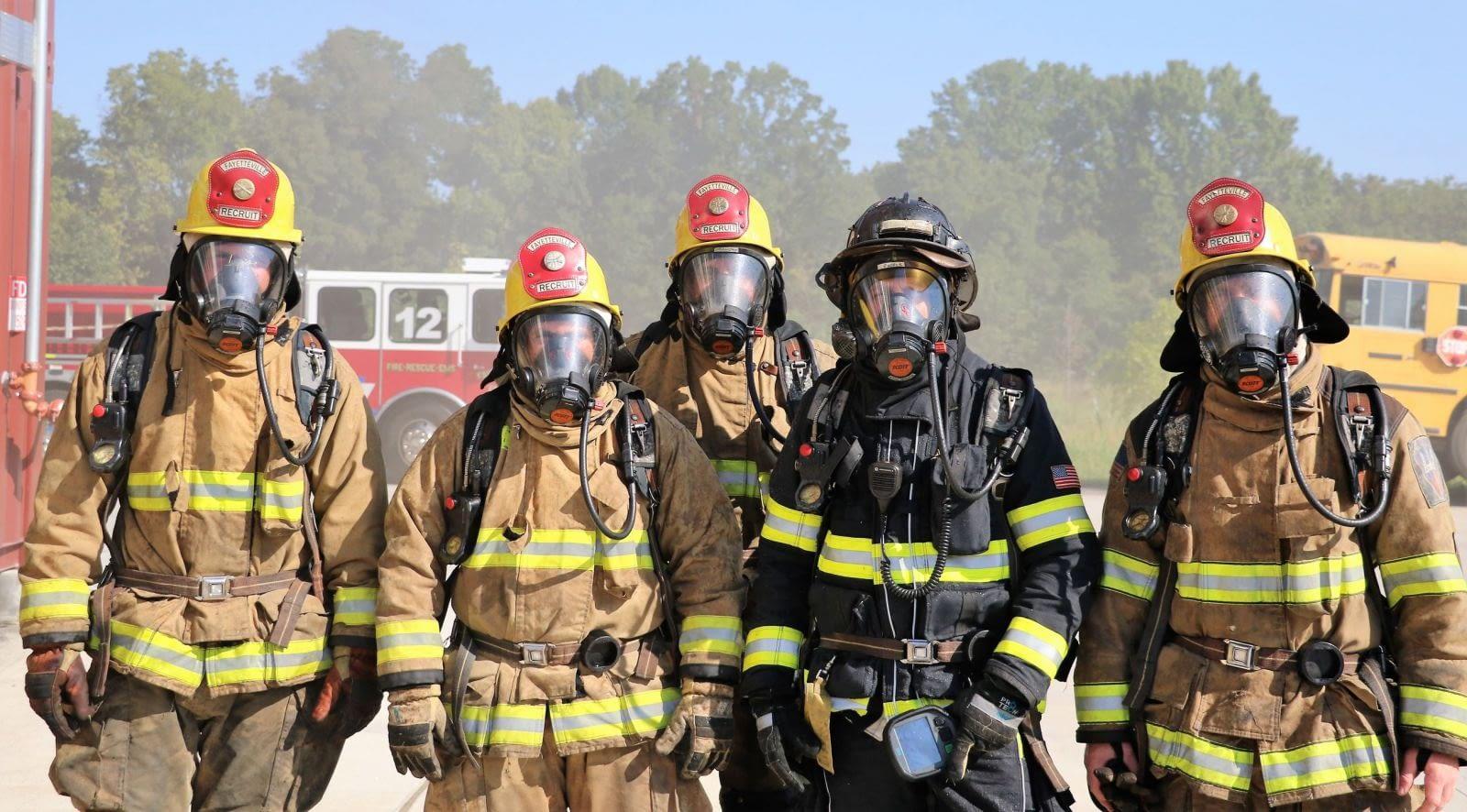 پوشش آتش نشان ها