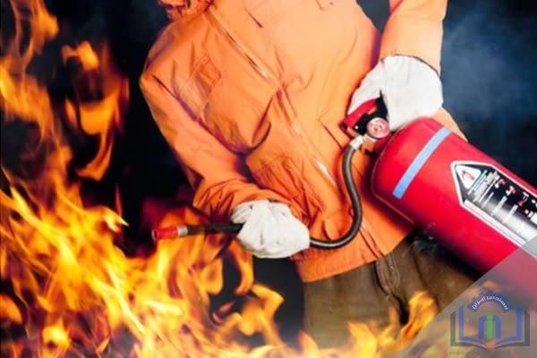 چگونگی خاموش کردن آتش